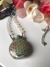 Seed of Life Bottle Necklace