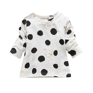 L/S Polka Dot Top