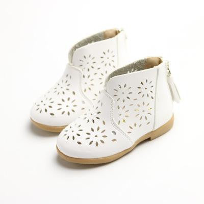 Flower Ankle Boot
