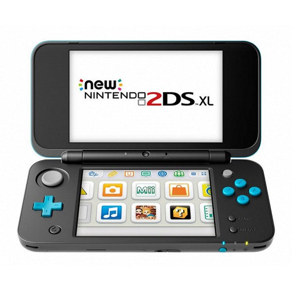 Nintendo New 2DS XL Nintendo 223594 4 GB microSDHC Black Turquoise