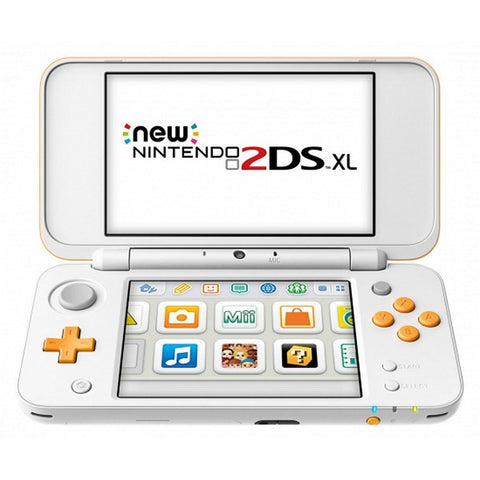 Nintendo New 2DS XL Nintendo 223593 4 GB microSDHC White Orange