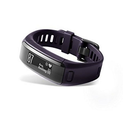 Activity Bangle GARMIN Vivosmart HR 29.6 g Purple Size M