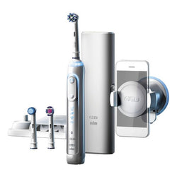 Electric Toothbrush Oral-B 224133 Bluetooth 3D Waterproof White Rechargeable battery