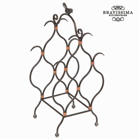 Bottle rack Iron (47 x 22 x 18 cm) - Art & Metal Collection by Bravissima Kitchen
