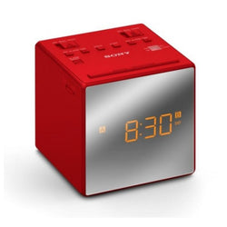 Clock-Radio Sony ICFC1TR Red