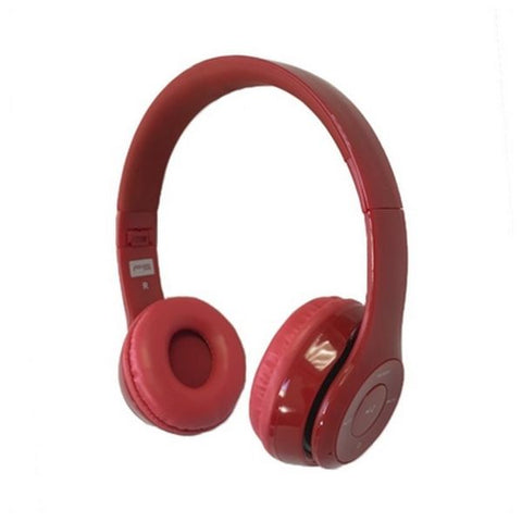 Bluetooth Headset with Microphone Omega Freestyle FH0915R Red