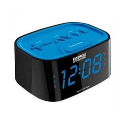 Clock-Radio Daewoo DCR45BL Blue