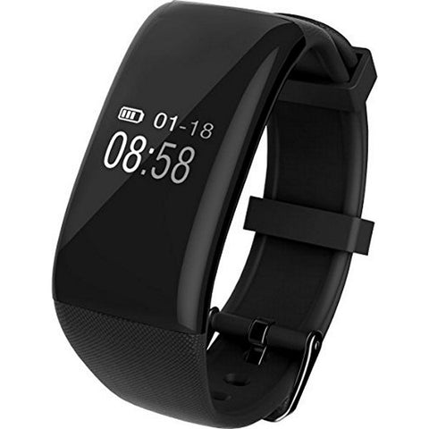 "Activity Bangle BRIGMTON BSPORT-12-N 0,66"" OLED Bluetooth Waterproof Black"