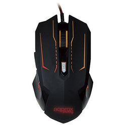 approx Mouse Gaming app PHANTOM 2400dpi 6 buttons Black