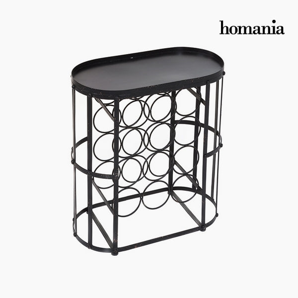 Bottle rack Iron Fir wood (12 botellas) by Homania