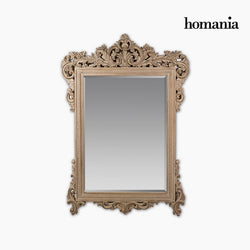 Mirror Synthetic resin Bevelled glass Wood (156 x 5 x 107 cm) by Homania