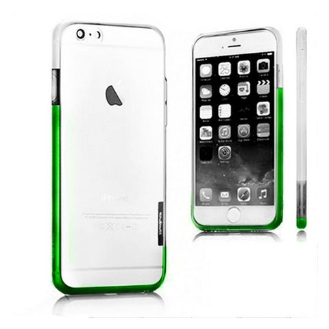 Bicolour Bumper Iphone 6 Plus X-ONE 109963 White Green
