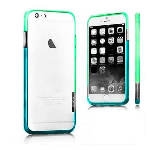 Bicolour Bumper Iphone 6 Plus X-ONE 109987 Blue Green
