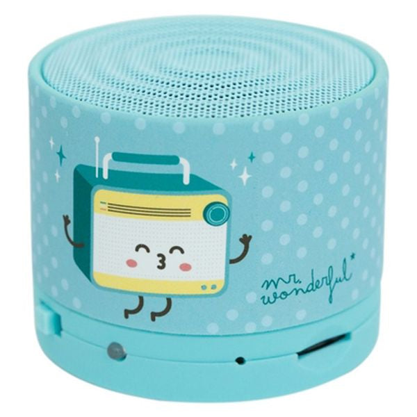 Bluetooth Speakers Mr. Wonderful MRSPK001 Bluetooth Blue