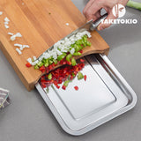 Bamboo Cutting Board with Tray TakeTokio