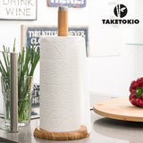 Bamboo Kitchen Roll Holder TakeTokio
