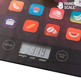 Black ikScale Digital Kitchen Scales