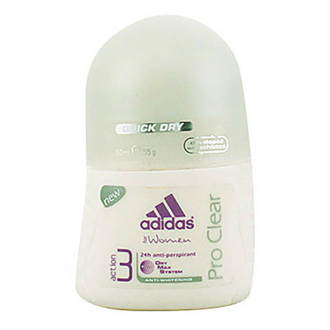 Adidas - ADIDAS WOMAN PRO CLEAR deo roll-on 50 ml