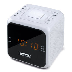 Clock-Radio Daewoo DCR-450 White