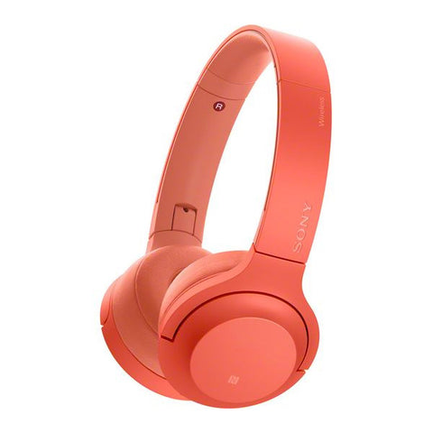 Bluetooth Headphones Sony WH-H800R 100 dB NFC Red