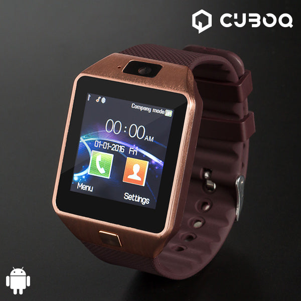 CuboQ Copper Smartwatch