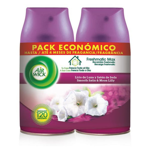 Air Wick Life Scents FreshMatic Duplo Moon Iris and Satin Silk Refill 2 x 250 ml