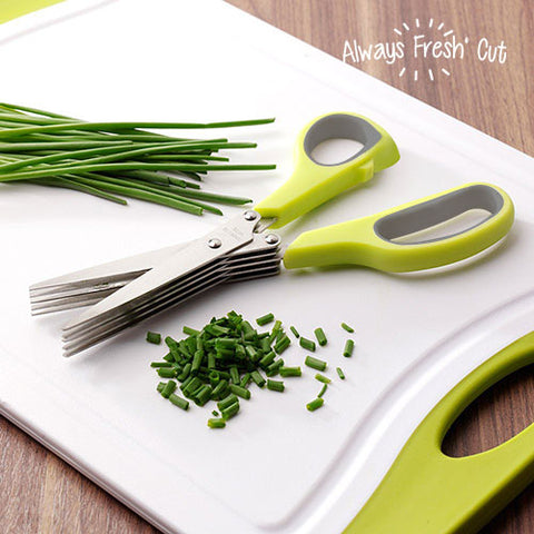 Always Fresh Cut Multi Blade Scissors