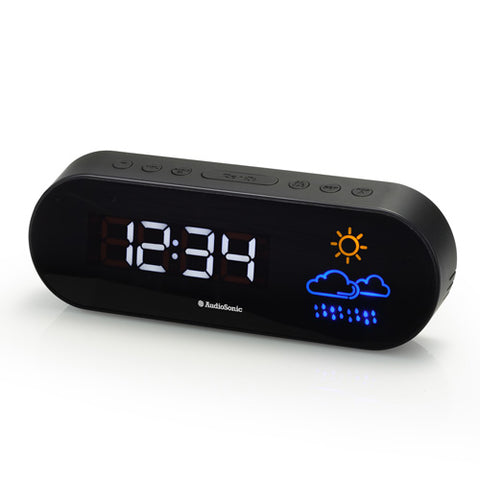 AudioSonic CL1489 Radio Alarm Clock