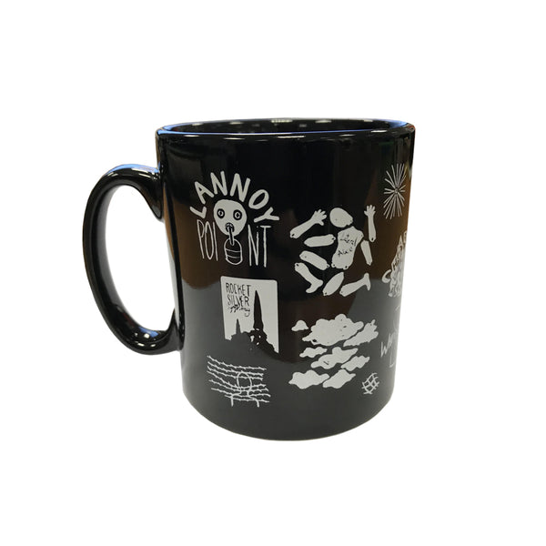 WEATHER DIARIES BLACK MUG