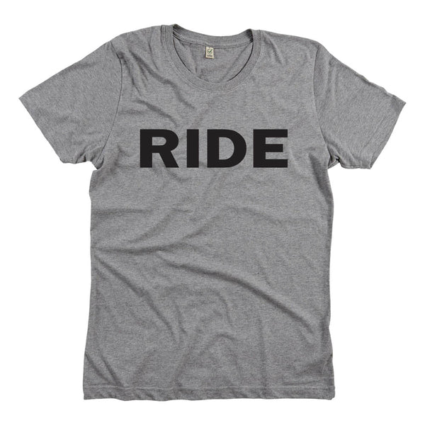 RIDE LOGO GREY T-SHIRT
