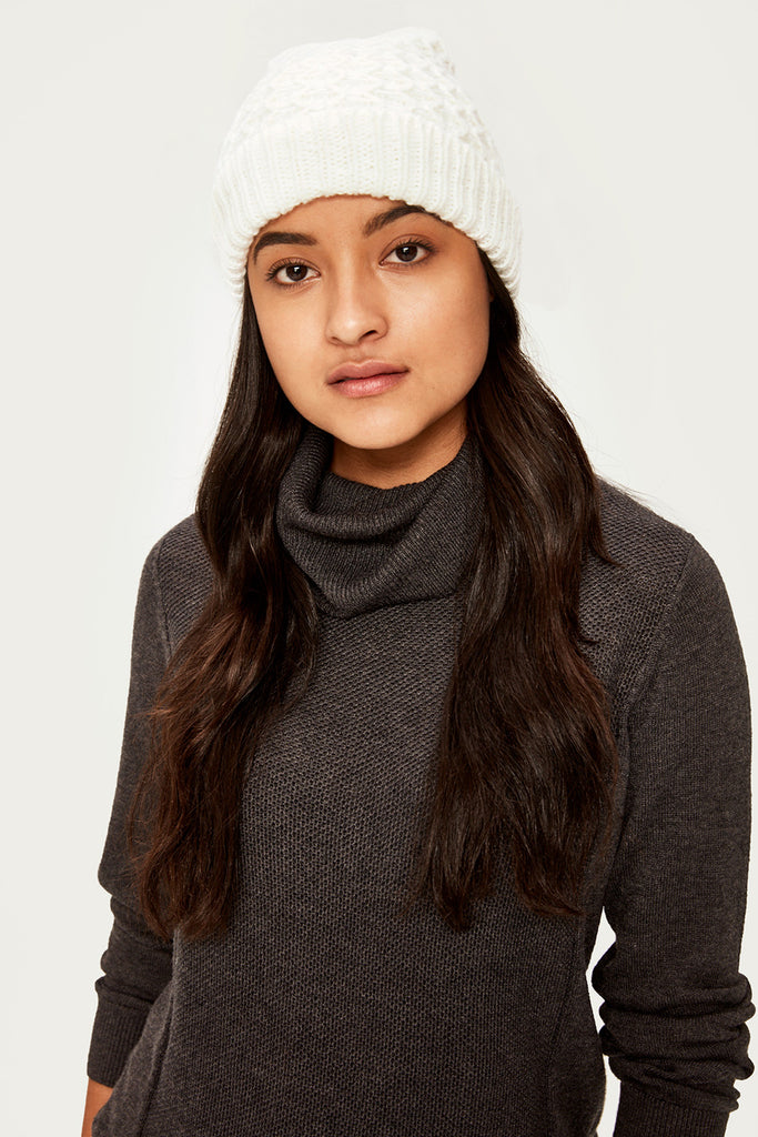 POP CORN KNITWEAR BEANIE
