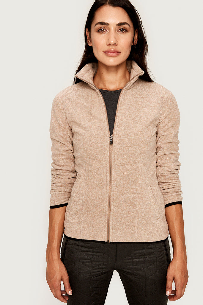 INTEREST ZIP-UP JACKET