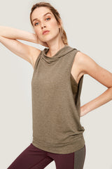 MAY SLEEVELESS HOODIE