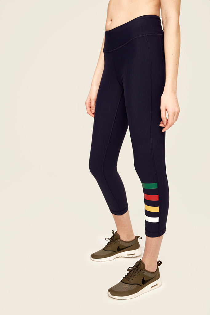 MOTION CROP LEGGINGS