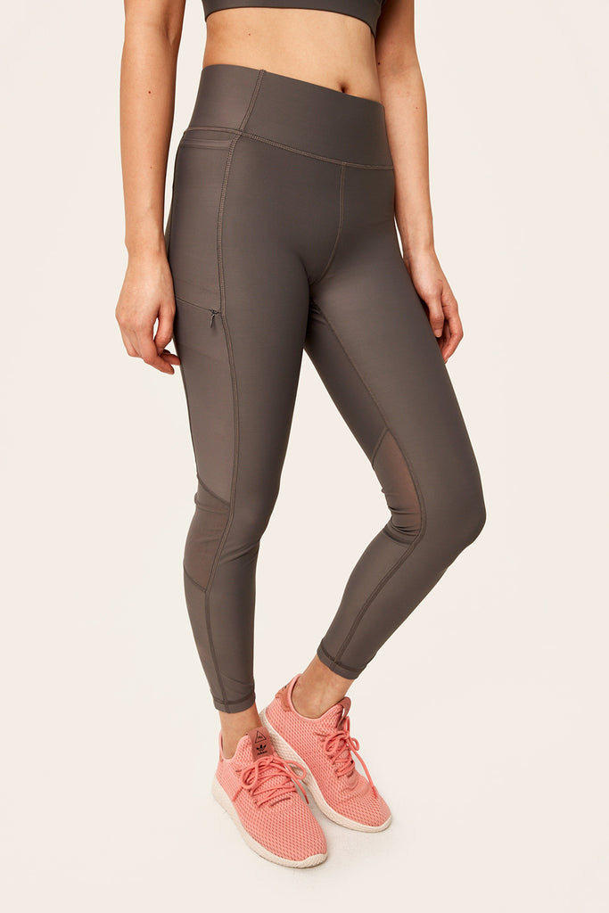MID RISE BURST LEGGINGS