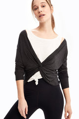 ASSENT MODAL LONG SLEEVE TOP