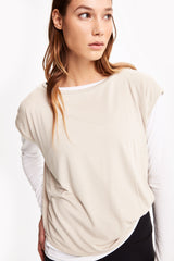 AGDA SHORT SLEEVE TOP
