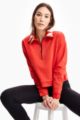 UNITY HALF-ZIP SWEATER