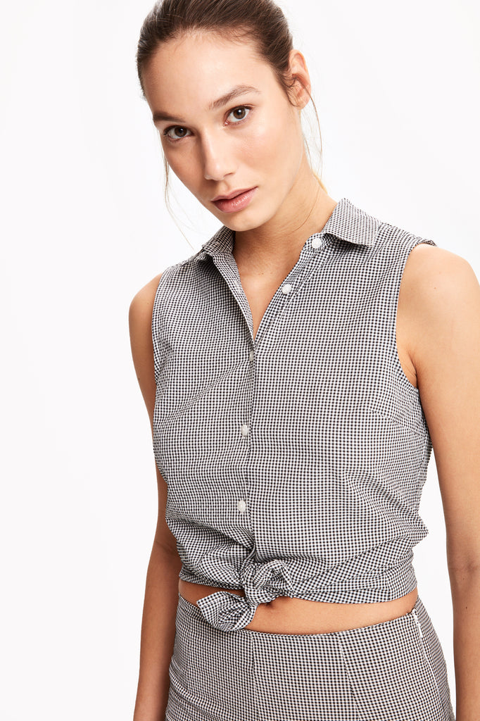 VICHY GINGHAM SHIRT