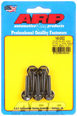 Real Main Seal Plate Bolt Kit, 8740, Hex Kit  - Chrysler Hemi 5.7/6.1/6.4L - Gauge Performance