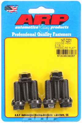 High Performance Pressure Plate Bolts, Hex - Chrysler Hemi 5.7/6.1/6.4L - Gauge Performance