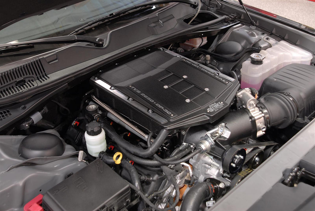 Edelbrock E-Force Stage 1 Supercharger System w/Tune - Charger/Challenger/300 6.1L HEMI '05-10 - Gauge Performance