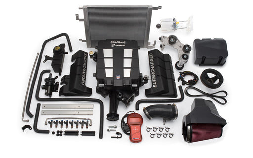 Edelbrock E-Force Stage 1 Supercharger System w/Tune - Charger/Challenger/300 5.7L HEMI '11-14 - Gauge Performance