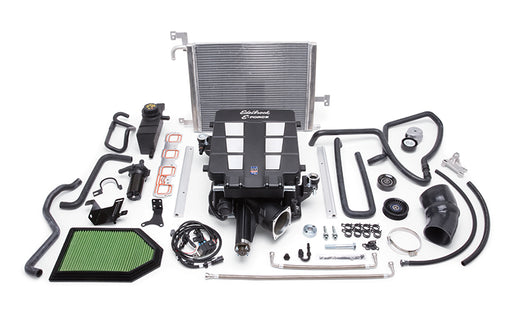 Edelbrock E-Force Stage 3 Pro-Tuner Supercharger System, No Tune - Charger/Challenger/300 5.7L HEMI '11-14 - Gauge Performance