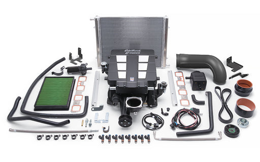 Edelbrock E-Force Stage 1 Supercharger System, No Tune - Ram 1500 5.7L HEMI '09-14 - Gauge Performance