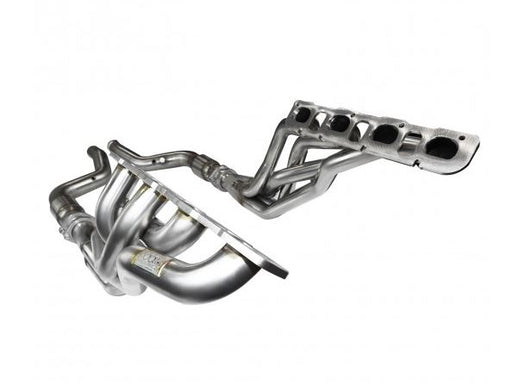 "Kooks 1-7/8"" x 3"" Long Tube Headers & Catted Y-Pipe - Challenger/Charger/300 SRT8 5.7L '06-18 - Gauge Performance"