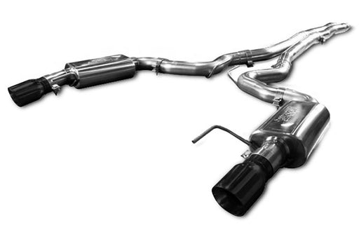 "Kooks 3"" Catback Exhaust System (Black Tips) - Charger SRT8 '15-18 - Gauge Performance"