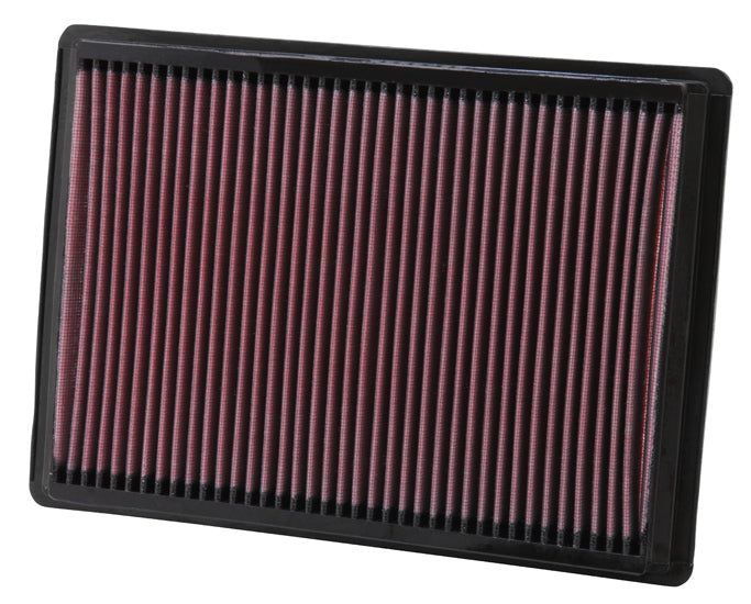 K&N 33-2295 High Performance Air Filter - Challenger/Charger/300 '05-10 - Gauge Performance