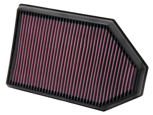 K&N 33-2460 High Performance Air Filter - Challenger/Charger/300 '11-18 - Gauge Performance