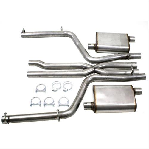 "JBA Performance Exhaust System 3"" - Charger SRT8 6.1/6.4L '12-14 - Gauge Performance"
